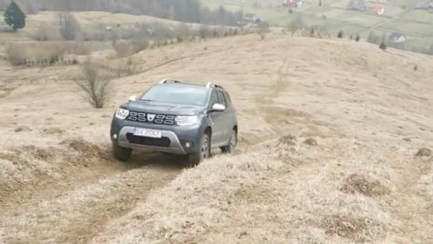 Dacia Duster în off-road. Cum face față? VIDEO