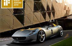 Ferrari Monza SP1 câştigă IF Gold Award