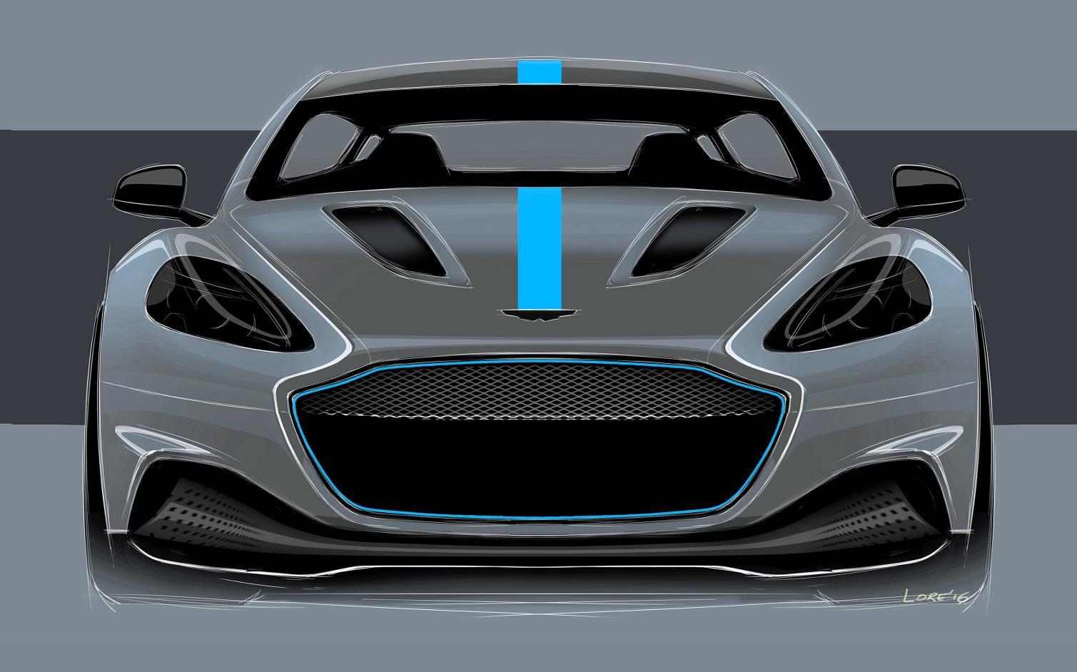 James Bond Aston Martin Rapid E 3