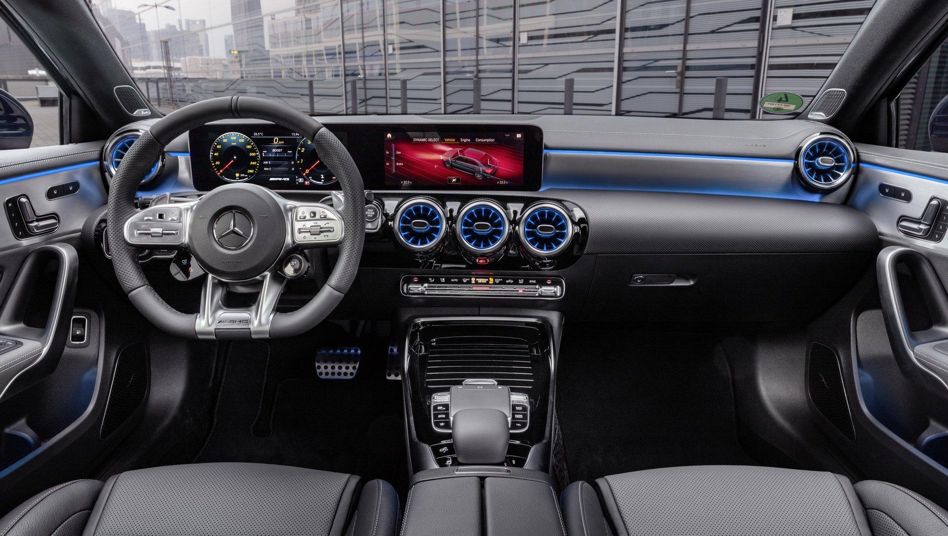Noul Mercedes-AMG A 35 Sedan
