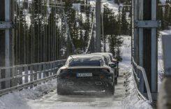Imagini noi cu Porsche Taycan. Când va fi gata supercarul electric?