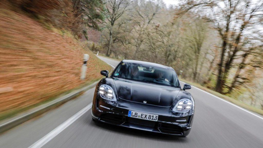 Porsche Taycan spionaj (2)