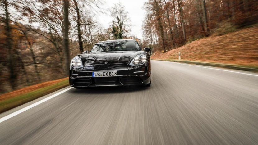Porsche Taycan spionaj (3)