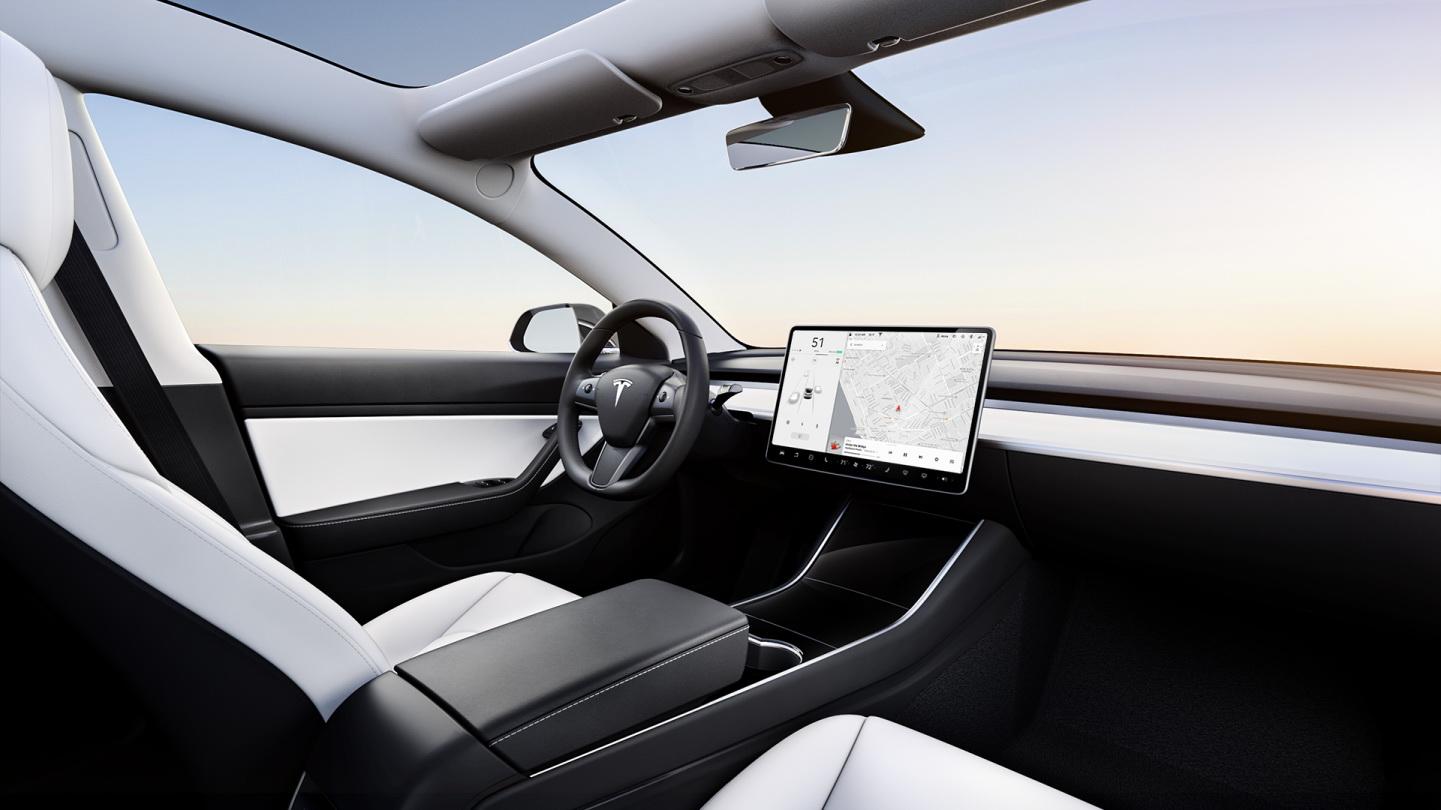 Tesla Model 3 alb (1)