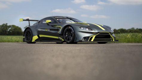 Aston Martin Vantage GT3: spaima japonezilor
