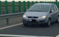 Ce amendă a luat șoferița care a condus pe contrasens pe autostradă?