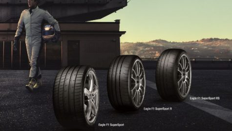 Goodyear a lansat noua gamă de anvelope Eagle F1 SuperSport