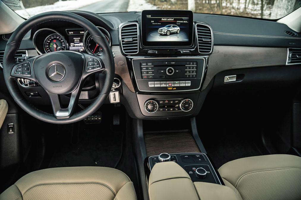 test comparativ Mercedes GLE Coupe