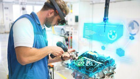 BMW între realitatea virtuală şi augmentată