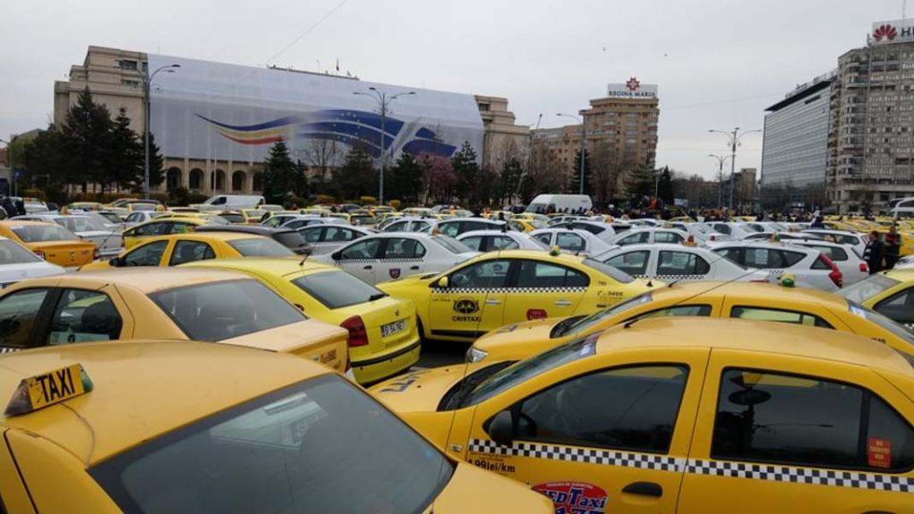 Piata Victoriei taximetristi
