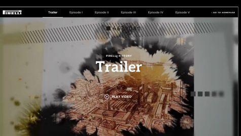 Pirelli își spune povestea într-un roman grafic digital, în cinci episoade.
