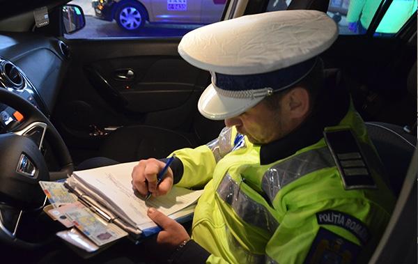 Politie amenzile de circulație