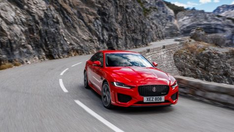 Test drive Jaguar XE facelift