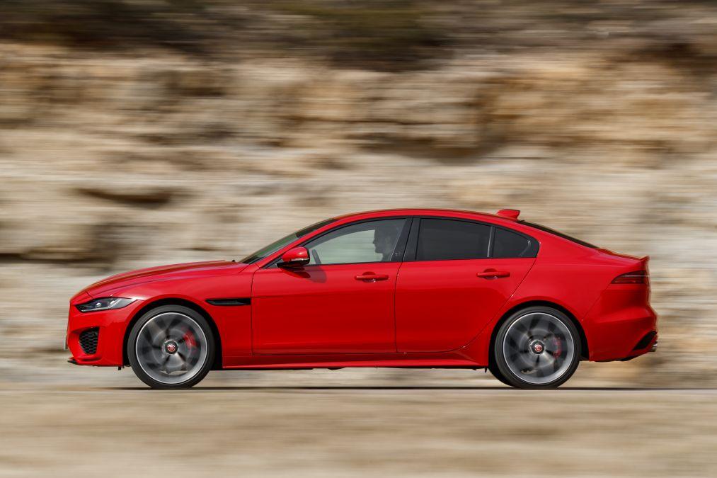 Test drive Jaguar XE facelift Nisa aprilie 2019