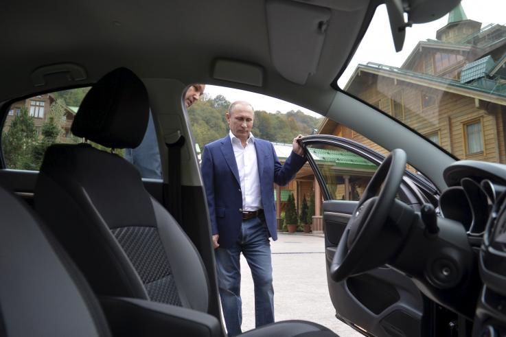 Vladimir Putin masina