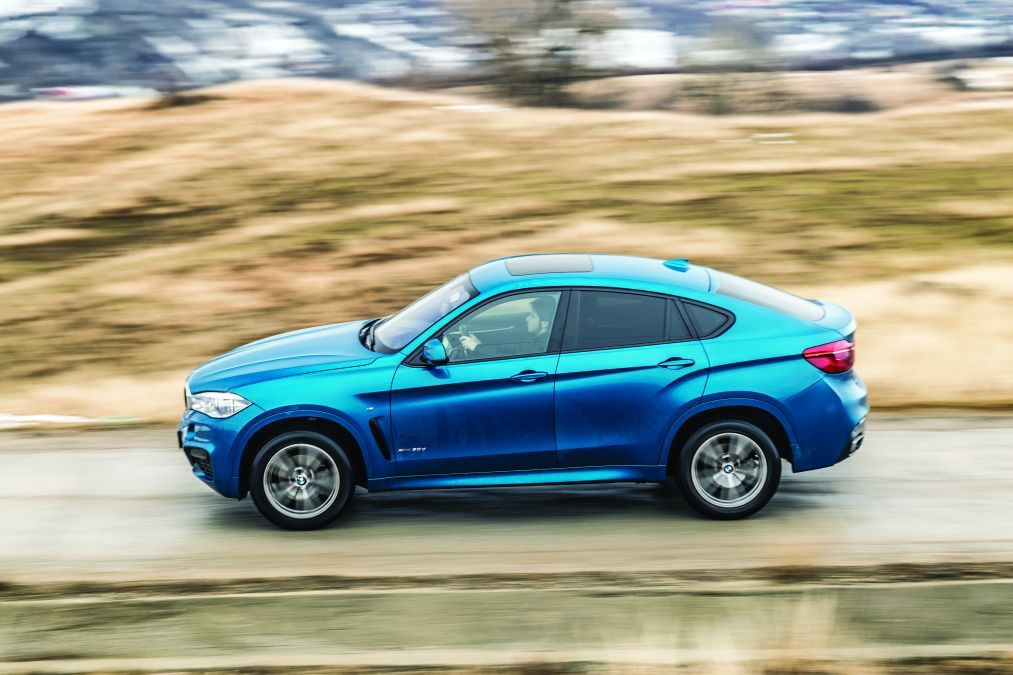 test comparativ BMW X6