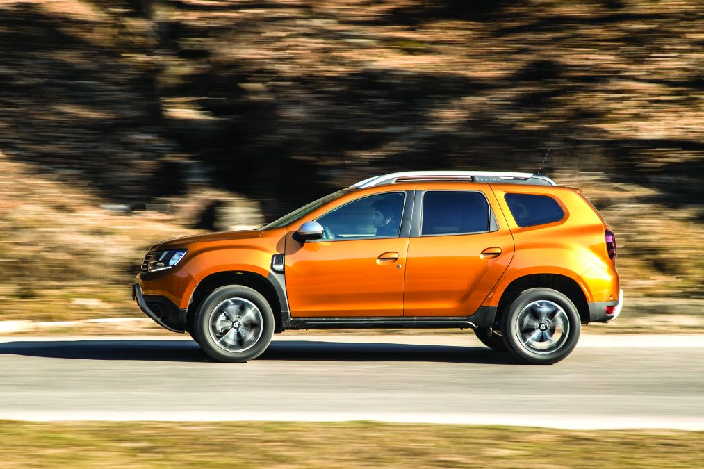 test comparativ Dacia Duster TCe150