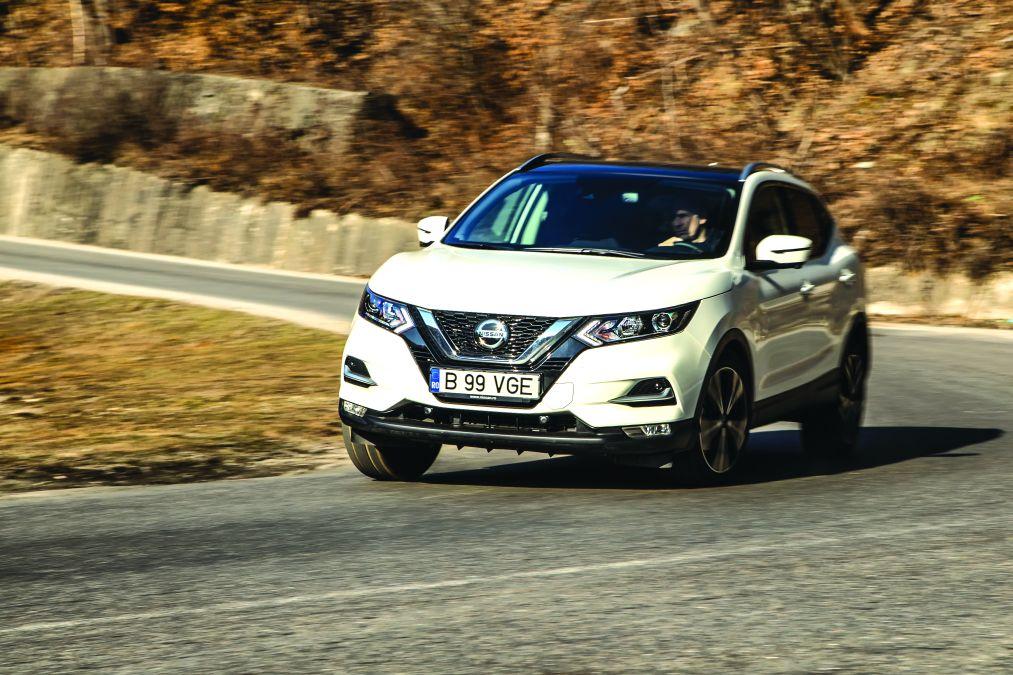 test comparativ Nissan Qashqai 1.3 DIG-T160