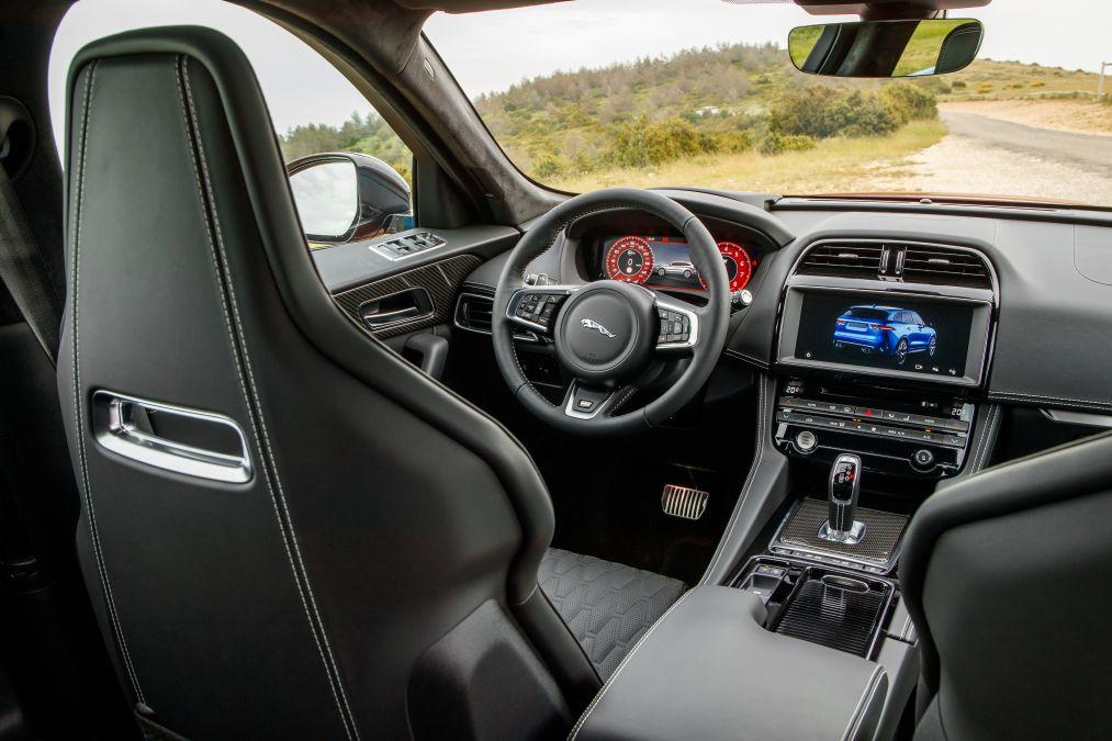 test drive Jaguar F-Pace SVR
