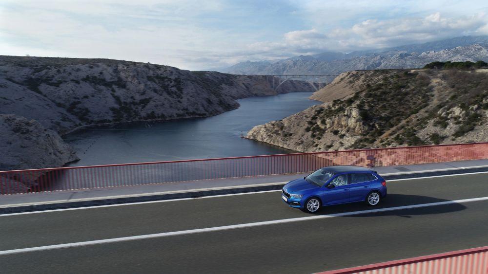 test drive Skoda Scala Split aprilie 2019