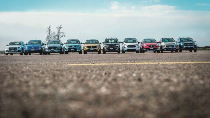 Test stabilitate 10 SUV-uri mici: probleme pentru Dacia Duster și Ford EcoSport
