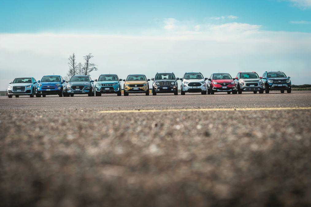 test stabilitate SUV mici 2019 Dacia Duster