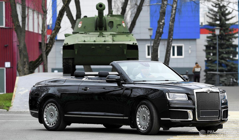 Aurus Senat Cabrio Vladimir Putin (1)