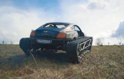 Bentley Ultratank – Cum a ajuns o mașină de lux să poarte șenile? VIDEO
