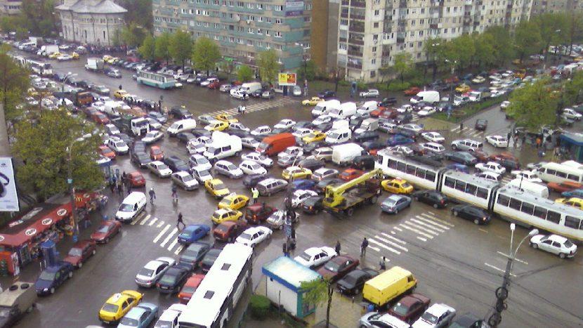 intersectie blocata amendă