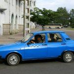 Dacia 1310 in Coreea de Nord (2)