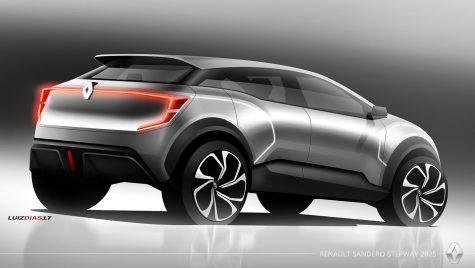 Dacia Sandero va arăta ca un OZN? Așa a desenat-o un designer