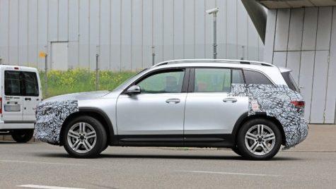Mercedes-Benz GLB în teste. Când va ajunge în showroom-uri?