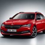 Noua Skoda Superb facelift