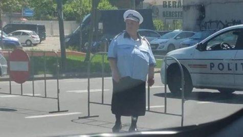 Ce a făcut MAI după ce tot internetul a luat o polițistă în vârstă peste picior?