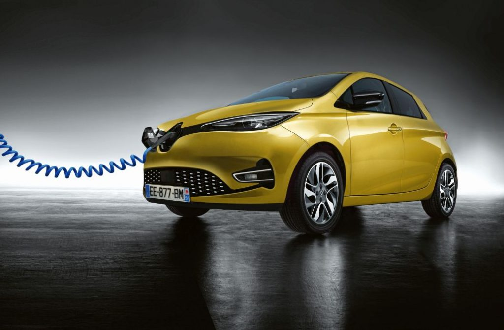 Renault Zoe facelift 2019