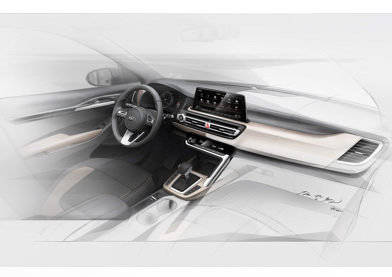SUV Kia interior (2)