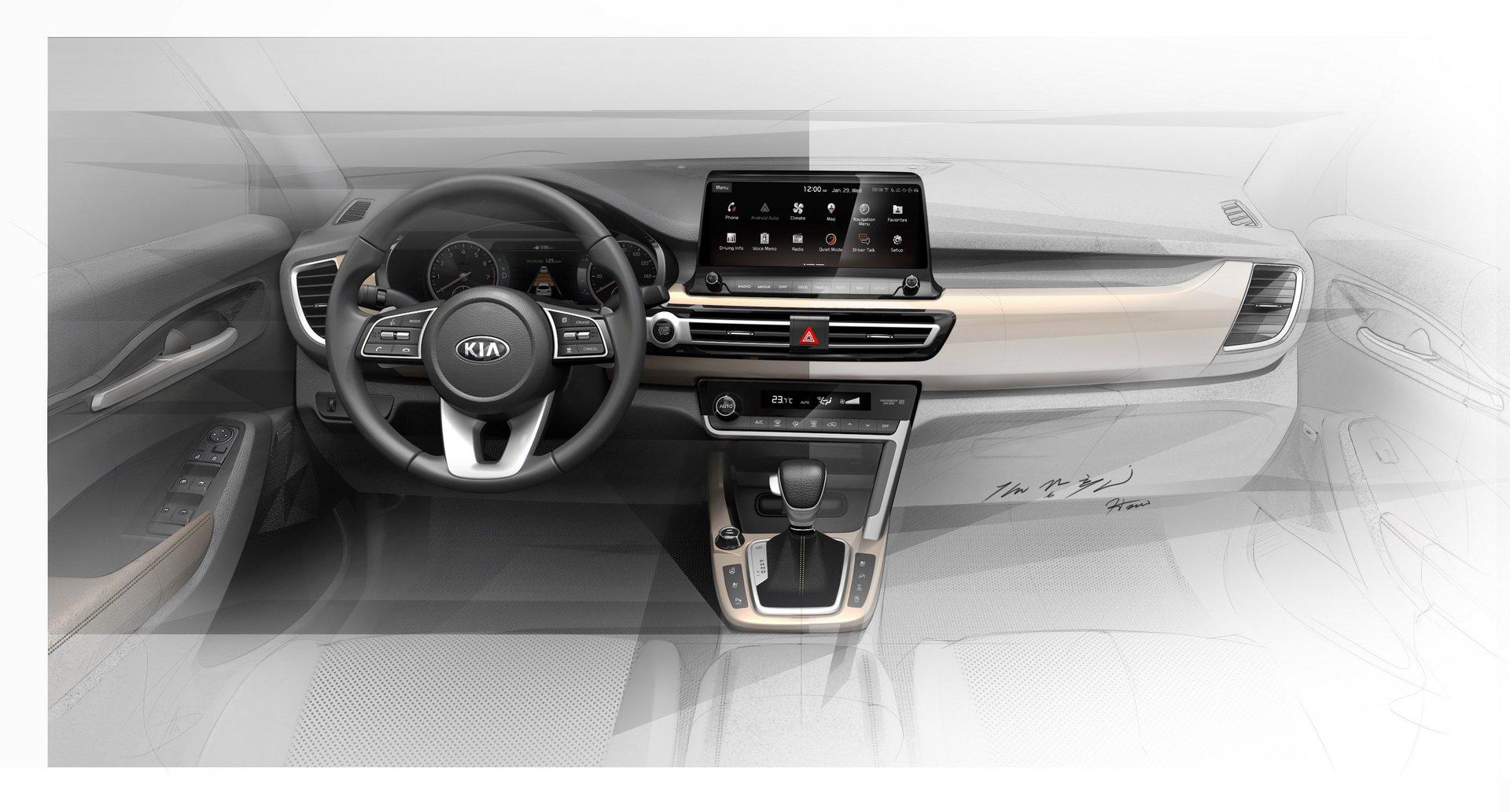 SUV Kia interior (3)