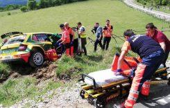 Titi Aur, accident în Raliul Argeșului. Copilotul său a ajuns la spital