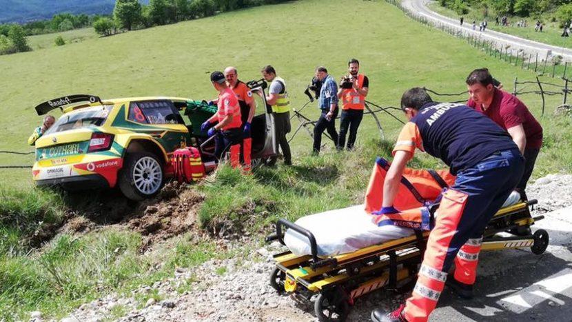 Titi Aur Accident Raliul Argeșului (3)