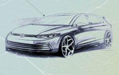 Prima imagine cu interiorul viitorului Volkswagen Golf