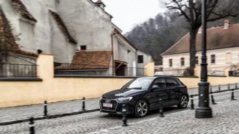 Test Audi A1 Sportback 30 TFSI 116 CP