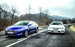 Test comparativ Renault Megane Sedan 1.3 TCe 140 CP vs Hyundai Elantra 1.6 128 CP