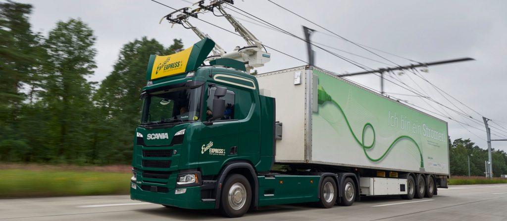 Camioane autostradă eHighway