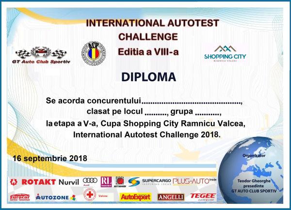 INTERNATIONAL AUTOTEST CHALLENGE 2019