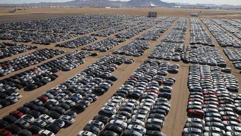 Unde a depozitat Volkswagen mașinile diesel returnate de clienți?