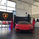 Huracán EVO în premieră națională la noul showroom Lamborghini București