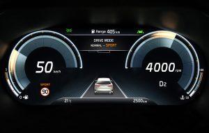 Kia XCeed instrumentar de bord rodajul autoexpert.ro