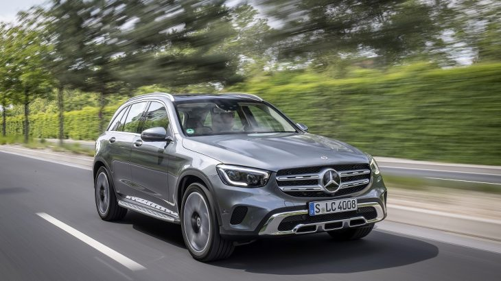 Test drive Mercedes-Benz GLC 300 d 4Matic facelift