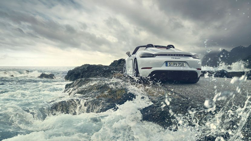Noile Porsche 718 Boxster Spyder și 718 Cayman GT4 - Informații și fotografii oficiale (1)