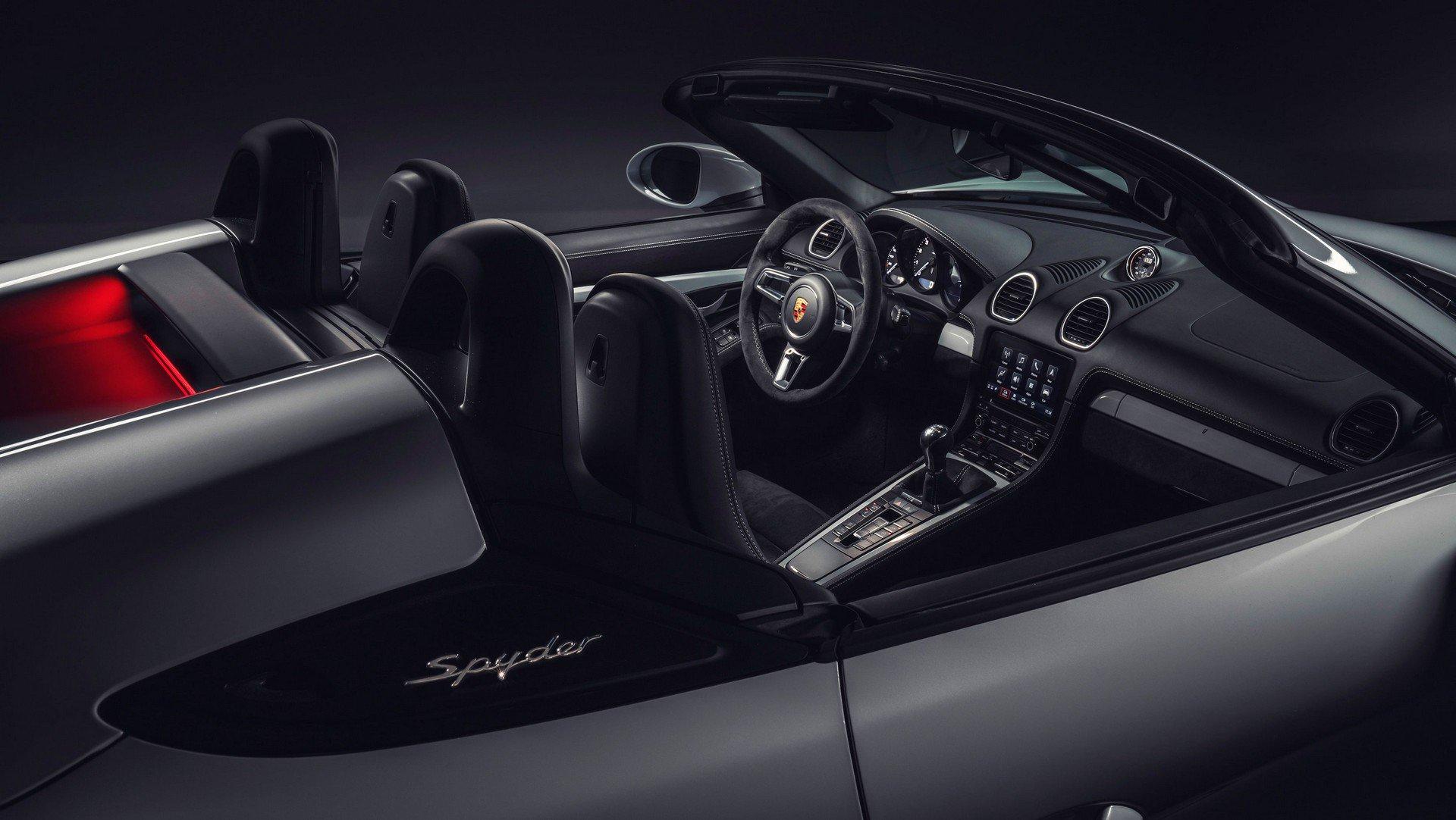 Noile Porsche 718 Boxster Spyder și 718 Cayman GT4 - Informații și fotografii oficiale (5)